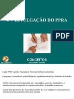 01 Divulgação do PPRA - SESI Santarém