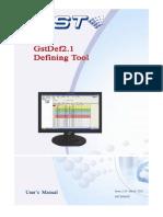 manual instalador da FACP Gstdef 2.1