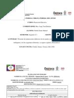 Planeaciones de Multigrado Español y Matemáticas Evidencia Unidad III Planeacion