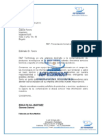 CARTA DE PRESENTACION DYP