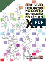 O desejo homoerótico no conto brasileiro - Carlos Eduardo Albuquerque Fernandes