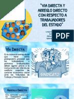 ARREGLO Y VÍA DIRECTA DE TRABAJADORES DEL ESTADO