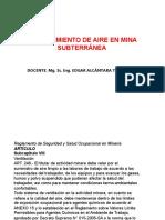 2. Requerimiento de la Cantidad de Aire en Mina