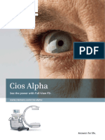Cios Alpha Brochure