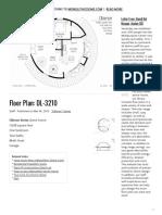 Floor Plan_ DL-3210 - 1bd 2bath single car garage 32 feet