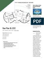 Floor Plan_ DL-3212 - 3bd 2bath and dry sauna triple dome 32 feet