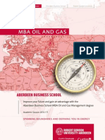 MBA Oil and Gas Brochure