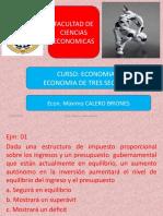 06a.- Ejm. Teoria. Economia tres sectores.