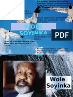 Wole Soyinka-early Life