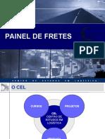 Painel de FRETES - CEL - Centro de Estudos em Logística
