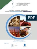 VIII Congreso Regional de Arbitraje IPA 2019