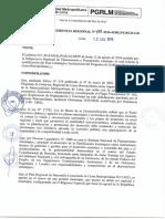 RGR 133-2016 Modificar el Plan Estrategico Institucional (PEI) 2015 - 2018 PGRLM