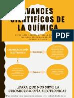 AVANCES CIENTIFICOS DE LA QUIMICA