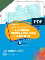 CURSO- ANÁLISIS HÍDRICO DE CUENCAS HIDROGRÁFICAS  CON ARCGIS - UCIENCY