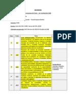 Comision 9110 - Cronograma de Sociedades