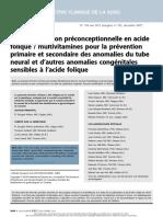 ARTICULO EN INGLES DE MALFORMACIONES CONGENITAS