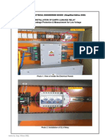 Installation of Earth Leakage Relay