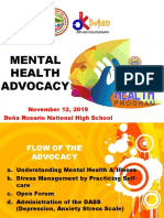 for Learners Improvised-Mental-Health-Program-Advocacy 2019