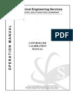 Controller calibration Manual