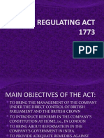 THE REGULATING ACT OF 1773.pptx