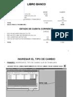 LIBRO BANCO Y CONCILIACION BANCARIA (PROCEDIMIENTO)