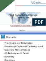 16 Tacit Knowledge Cairns)
