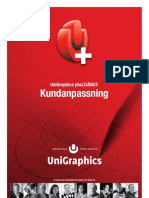 UniGraphics plus Kundanpassning