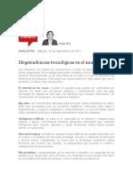 Megatendencias tecnologicas en el mundo actual Felipe Rios sep 30 17.docx