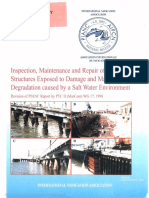 PIANC - MarCom WG 17 Inspection, Maintenance and Repair of Maritime Structures Exposed to Damage and Material Degradation Caused by the Salt Water Enviroment (1990)
