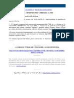 Fisco e Diritto - Corte Di Cassazione n 25380 2010
