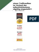 Kostenloser Trafficaufbau Der Verkauf Des Money Back Link Systems Wird Endgueltig Eingestellt Geld Im Internet 24