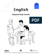 English 5 DLP 18 - Sequencing Events
