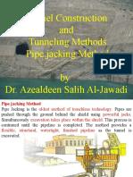 Pipe jacking Method