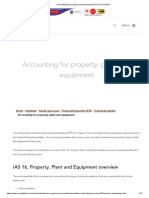 Accounting for property, plant and equipment _ ACCA Global