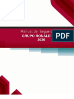 MANUAL DE SEGURIDAD grupo  RONALD´S eirl