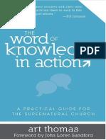 La palabra del conocimiento en - Art Thomas (TRADUCIDO).pdf