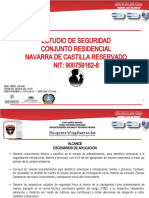 ESTUDIO DE SEGURIDAD NAVARRA DE CASTILLA RESERVADO