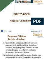 NOÇÕES FUNDAMENTAIS DIREITO FISCAL
