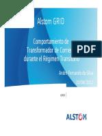2.3 - Régimen transitorio TC's