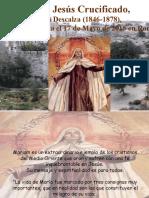 Ma. de Jesus Crucificado