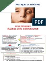 TP N_ 13 - FICHE TECHNIQUE DIARRHEE - DESHYDRATATION