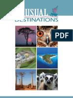 Unusual Destinations - 2011 Full Brochure