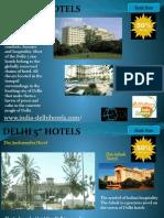 Delhi Five Star Hotels