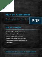 Plan de Financement Odp