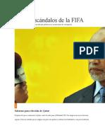 Top de escándalos de la FIFA 3