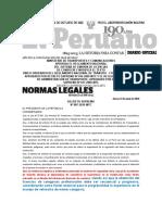 NUEVO REGLAMENTO DE LICENIAS DE CONDUCIR