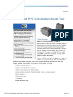 Cisco Aironet 1570 Series Outdoor Access Point Data Sheet