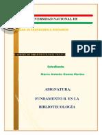 TAREA 1.1 DE LA UNIDAD 1 DE FUNDAMENTOS B. EN LA BIBLIOTECOLOGÍA. CICLO 2..docx