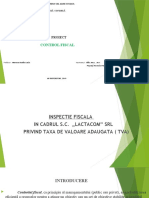 PROIECT CONTROL FISCAL -PPT