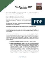 Risk Napoleon 2007_Libro 3_Extra